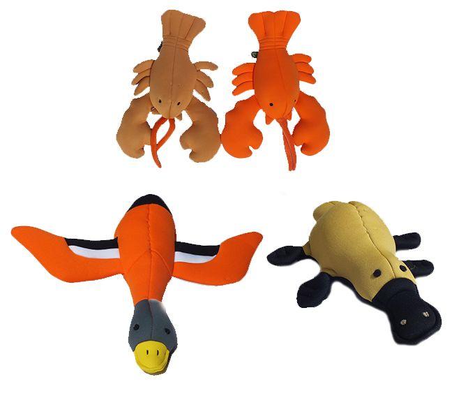 Aqua toys for aqua dogs!