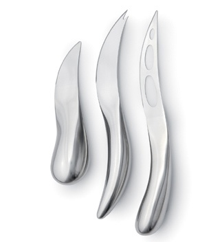 George Jensen Forma Cheese knives