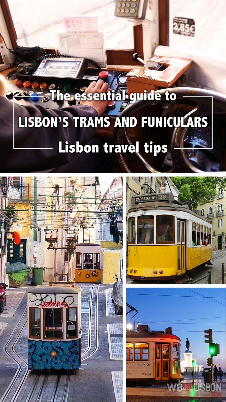 Lisbon's funiculars and elevators were made to help conquering the city's hills and the trams are amongst the first public transports used in Lisbon. Each is unique and takes you to enchanting viewpoints and gardens with bars for a drink with a view or the best spots to watch the sunset in Lisbon.