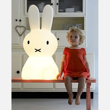 Giant Miggy night light lamp. How adorable is this?! Perfect for a kids room or a cool adult's living room :D