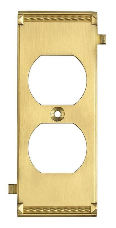 ELK Lighting Clickplates Brass Middle Switch Plate - 2503BR