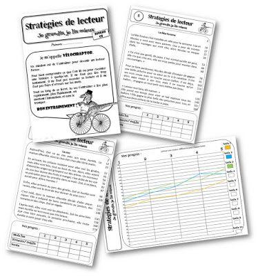 Vélociraptor : fichier d'entrainement à la fluence de lecture pour CE et CM (Fluor)