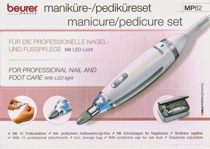Josefine 21 Test Blog: Beurer Maniküre-/Pediküre - Set MP 62 Produkttest ...