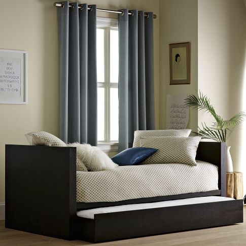 daybed with trundle and mattresses woodworking projects plans. Black Bedroom Furniture Sets. Home Design Ideas