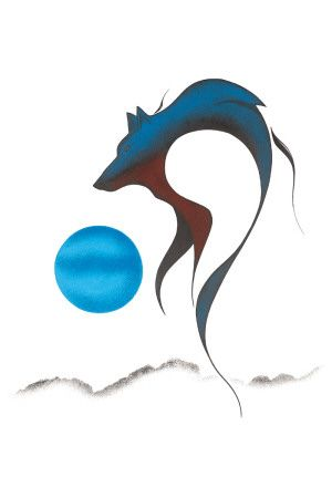 Wolf Spirit l, Isaac Bignell