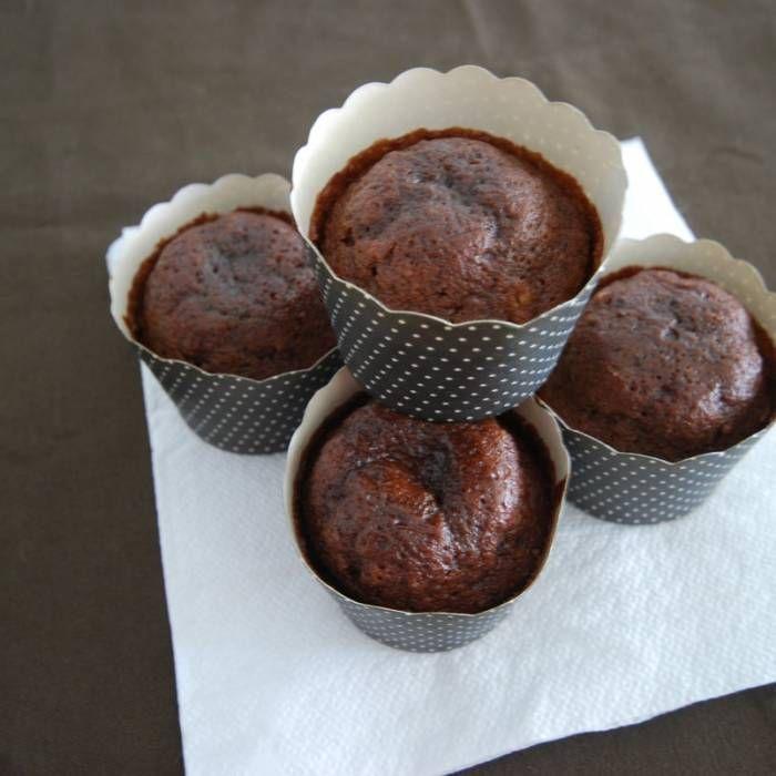 Saftiga chokladmuffins – recept