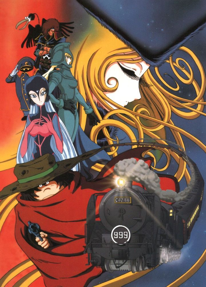 Galaxy Express 999....I used to love this as a kid, and I'm the only person I know that used to watch this.