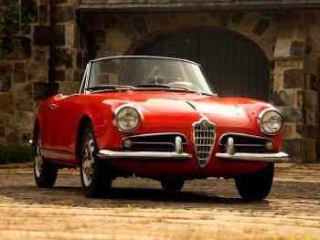 Alfa Romeo Giulietta Spider (101) '1958–62