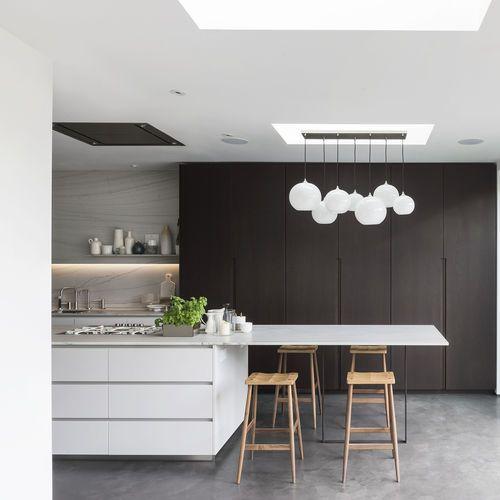 Cocina moderna / de madera / de piedra / con isla 201608  TM Italia
