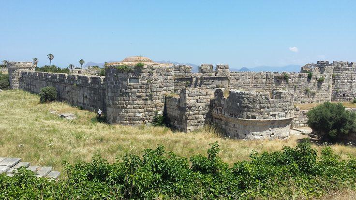 Castle Neratzia. Kos stad