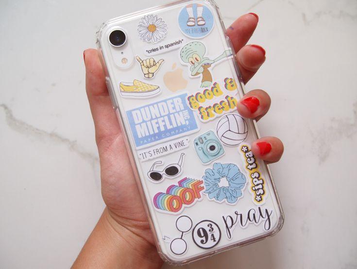 Diy Sticker Phone Case Template Iphone Case Stickers Diy Iphone Case Phone Case Stickers