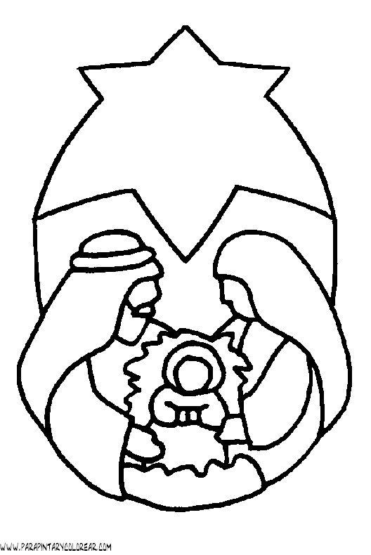 Dibujo De Nacimiento De Jesus Nazaret 017 Clip Art