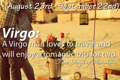 Virgo man dating style