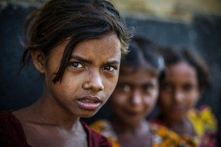 Burmese Girls Photo by John Quintero -- National Geographic Your Shot