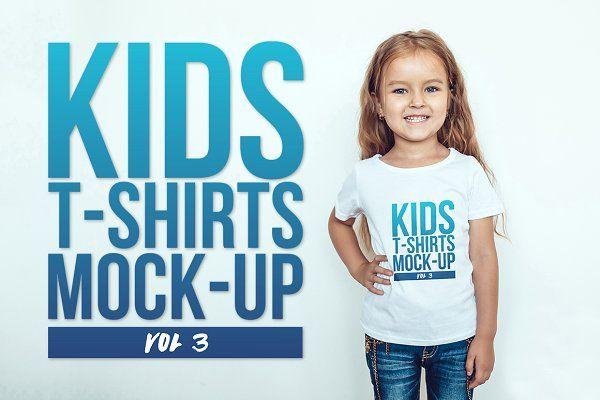 Download Kids T Shirt Mock Up Vol 3 Psd Mockup Free Mockups Psd Tshirt Mockup Kids Tshirts Shirt Mockup
