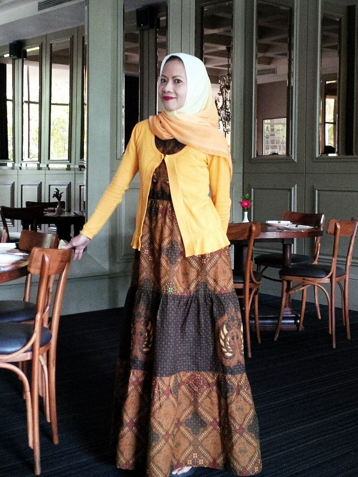 Cotton Indonesian Batik dress