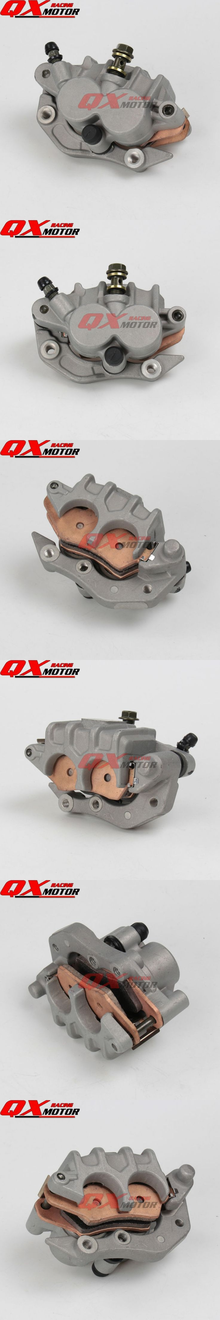 Front Brake Caliper with Good Pads For 2004-2012 CR125 CR250 CRF250 CRF450 X R Xmotos Kayo T4/T6 Dirt Bikes Motocross