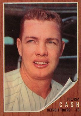 norm cash | 1962 Topps Norm Cash #250 Baseball Card