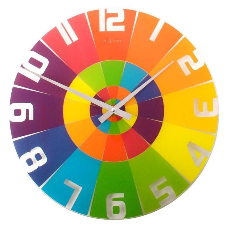 NeXtime- zegar ścienny Rainbow