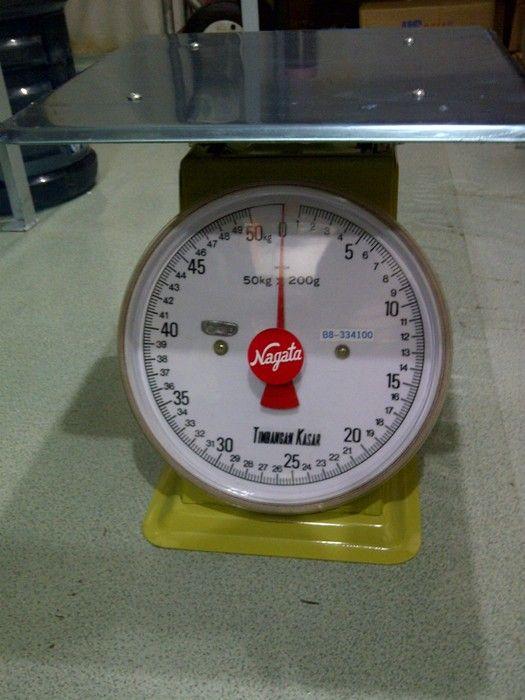 Harga Timbangan Duduk Nagata,Type B8,Kapasitas 30kg,50kg,100kg,Pan size 32cm x 32cm,Harga..