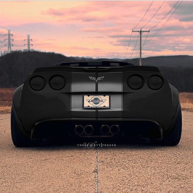 """""""Widebody C6 Corvette"""""""
