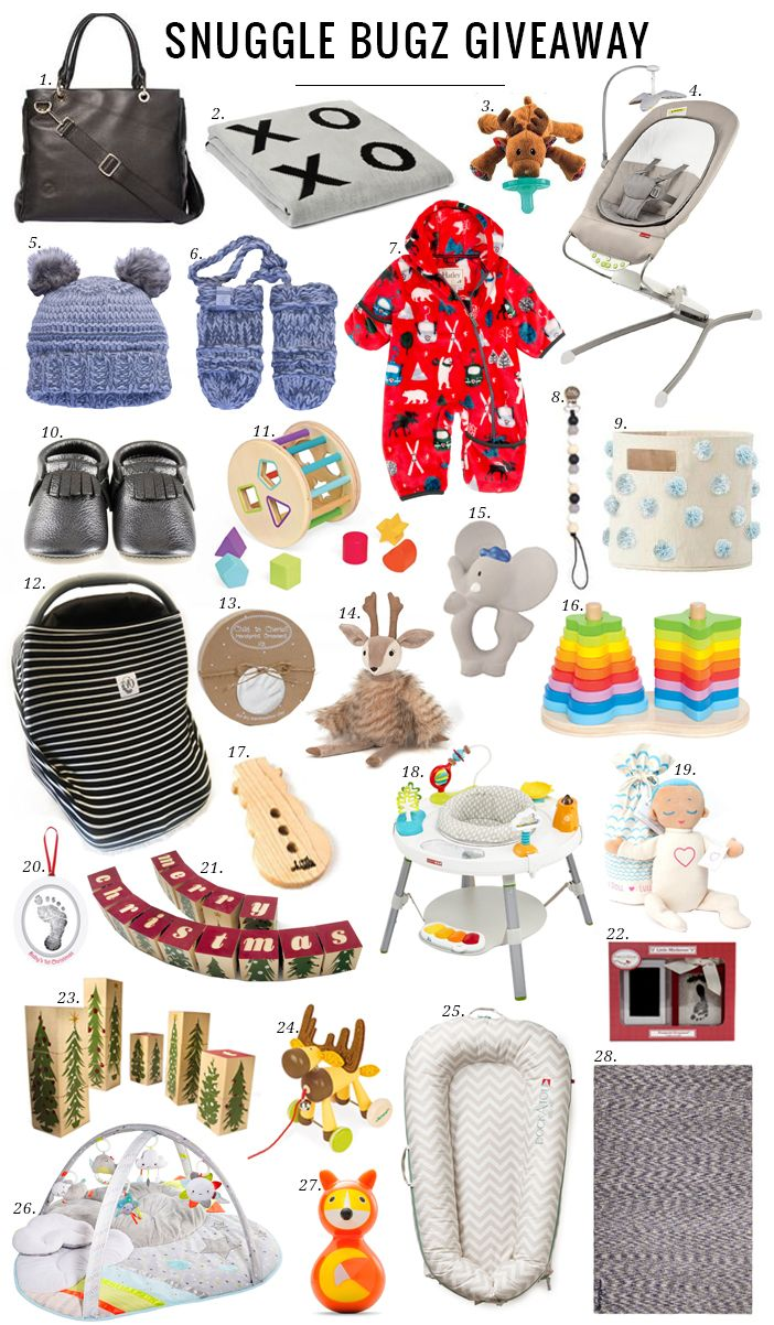 On the 4th day of Christmas Santa Jilly and her elves are gifting to you, a fully loaded package from Snuggle Bugz!!!!