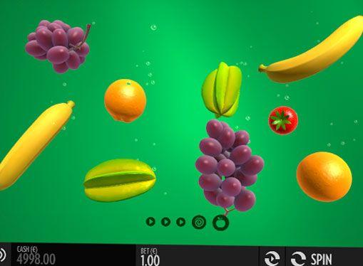 Слот автомат Fruit Warp - играят онлайн за пари. Thunderkick предлага всички комарджии да забравят за обичайните линии и барабаните, да играете за истински пари със сключването на нов онлайн машина наречена Fruit Warp. Тук са всички икони в разпръсната начин, тя носи цяло ново п