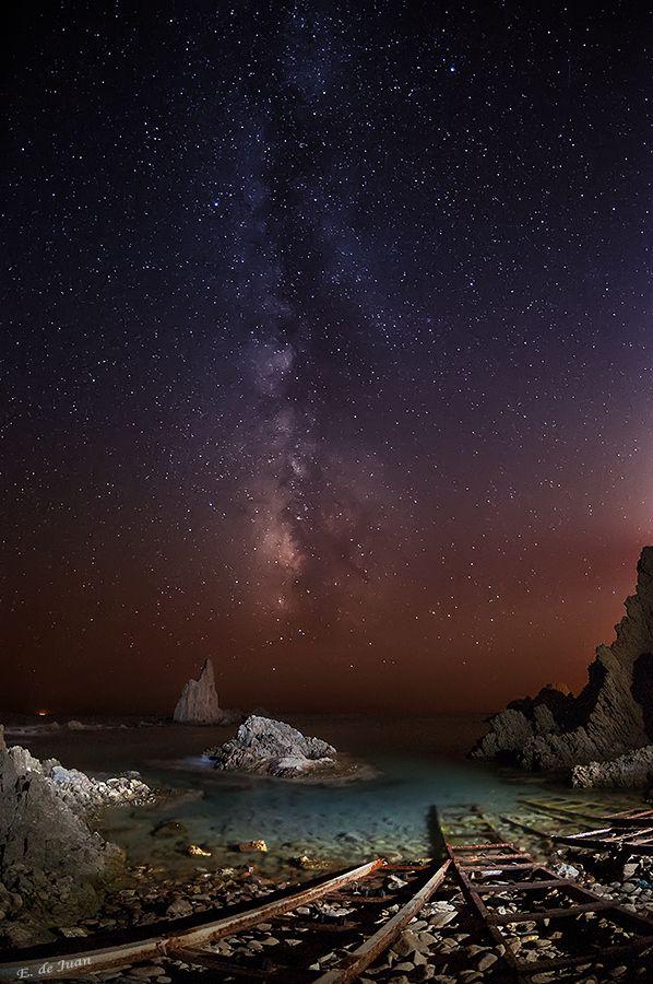 Arrecife de las Sirenas, Cabo de Gata. Almería   by Edu de Juan, via 500px