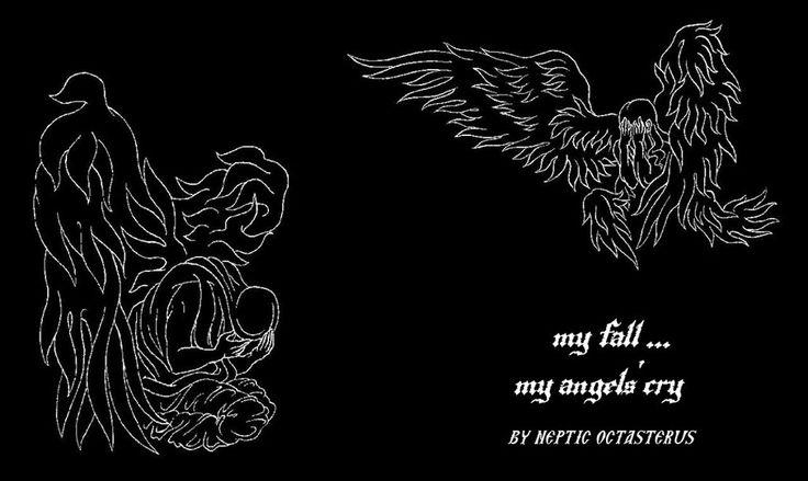 My Fall...My Angels' Cry by TsekeArs