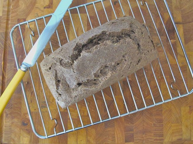 Flaxseed Bread - #highfiber #dairyfree #glutenfree