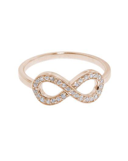 Rose Gold Infiniti Ring