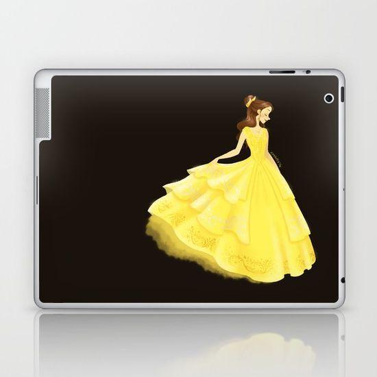 Golden Beauty Laptop & iPad Skin