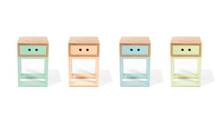 Bancos Gaveteiros Box Igual #farpa #wood #retro #pastelcolors #boxigual #farpapt #home
