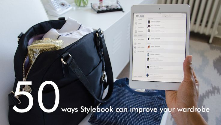 50 Ways to Improve Your Wardrobe with Stylebook via @stylebookapp. If it could only be this easy!! #michiganpantry #fashionista