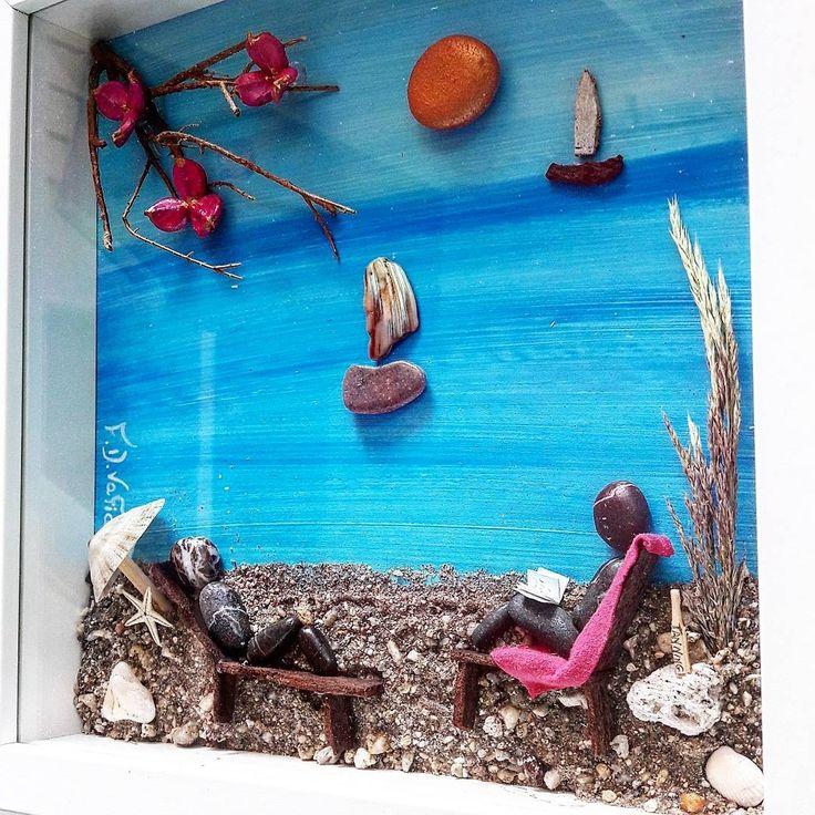 #driftwoodfdvafiadi Pebble art, couple, lovegift, greece, beach