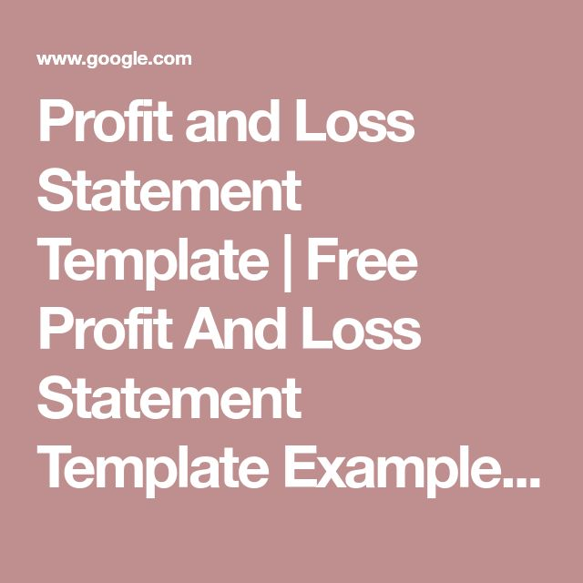Best 25+ Statement template ideas on Pinterest Art education - free profit and loss template for self employed