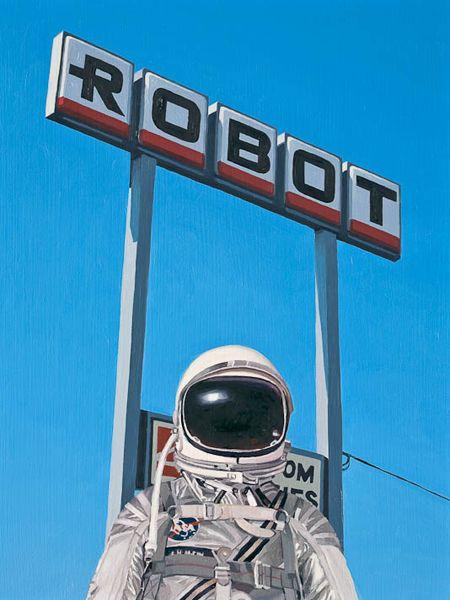 Robot, 2011   Scott Listfield   astronautdinosaur.com