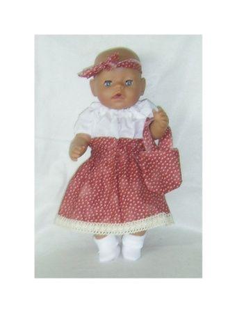 Aud,s  Dukkeklær til dukke 43 - 50 cm cm