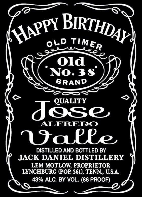 free jack daniels label template