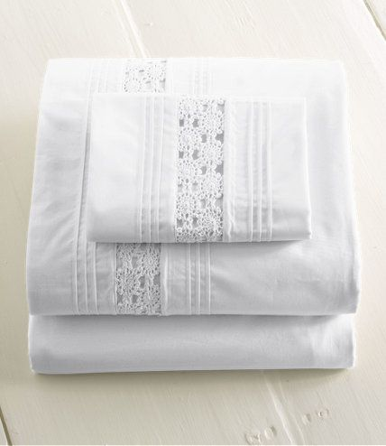 Heirloom Crocheted Sheet Set: Sheet Sets | Free Shipping at L.L.Bean