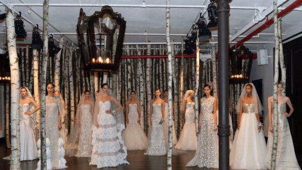 Abiti da sposa 2015, lo stile gotico di Naeem Kahn