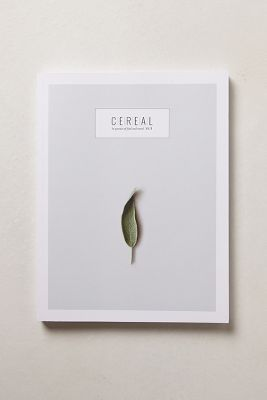 cereal magazine statement cover design