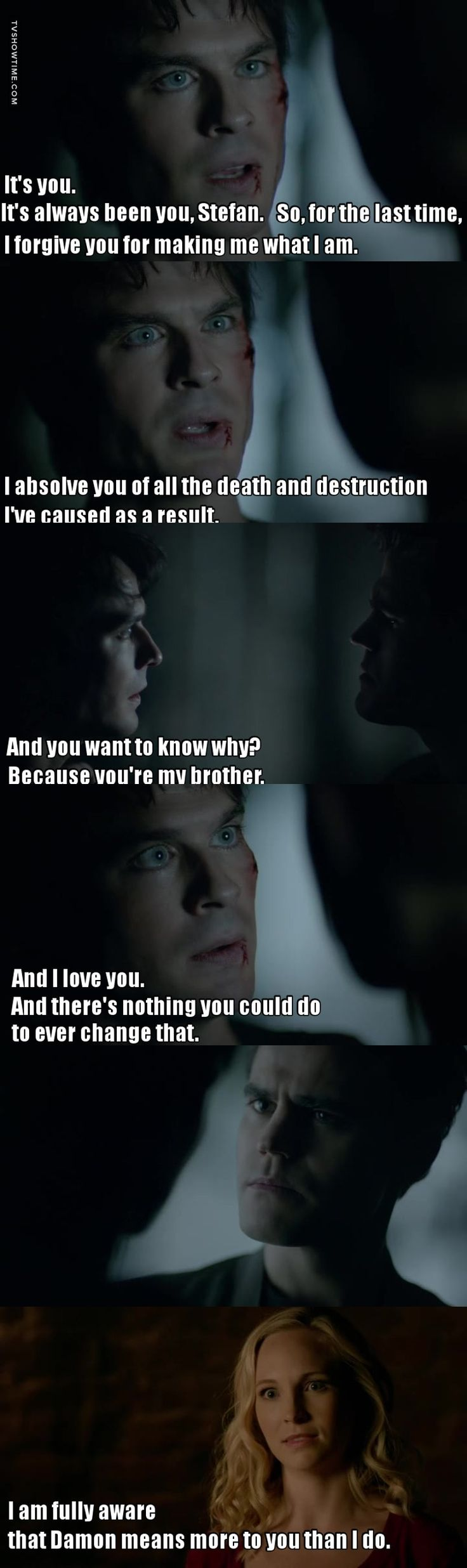 This is why I love Damon and Stefan! ❤️