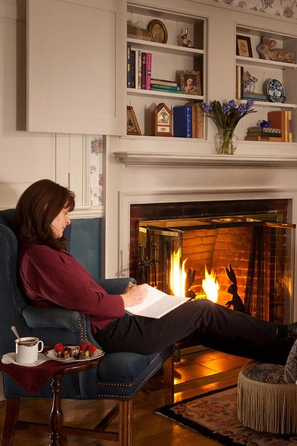 Cozy Up To The Fireplace With A Good Book This Winter The Rabbit