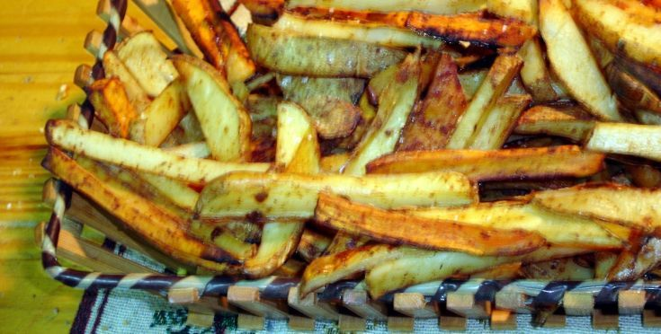 Oven Baked French Fries Recipe - Genius Kitchen