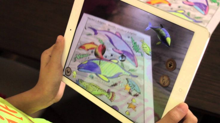 Augmented Coloring Book