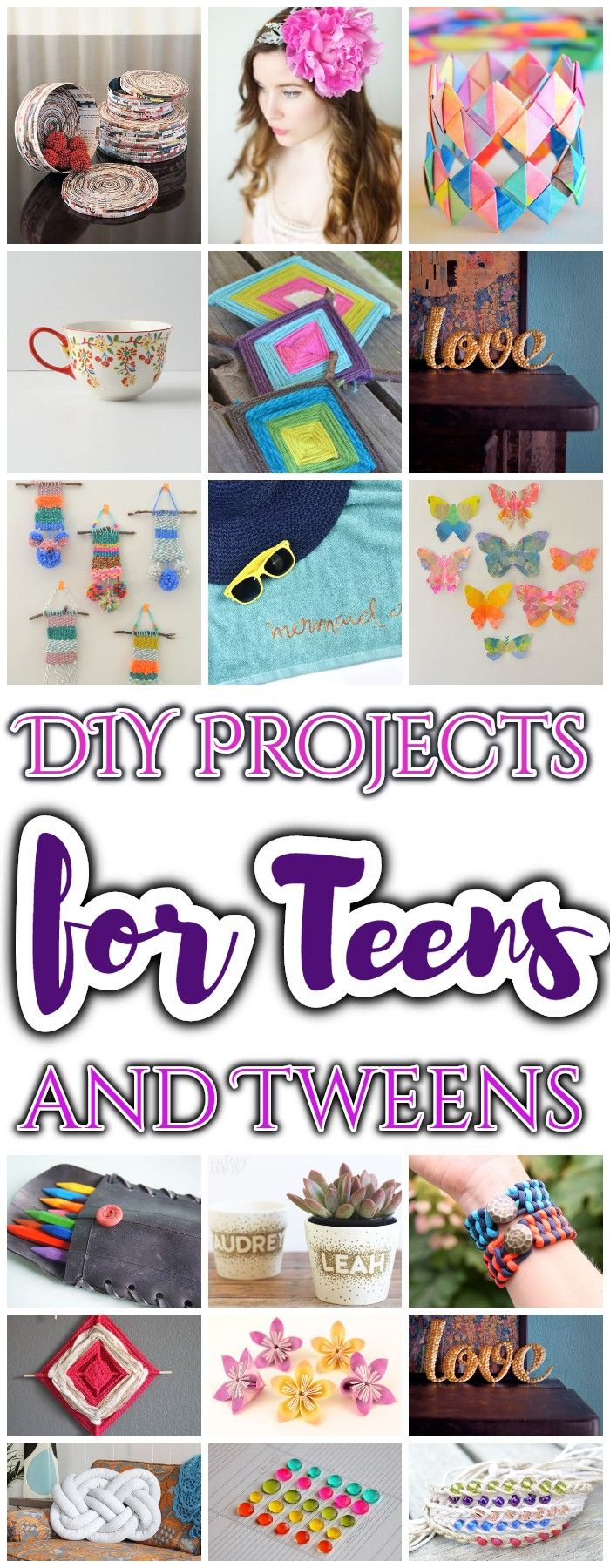 25 Cheap DIY Projects for Teens and Tweens