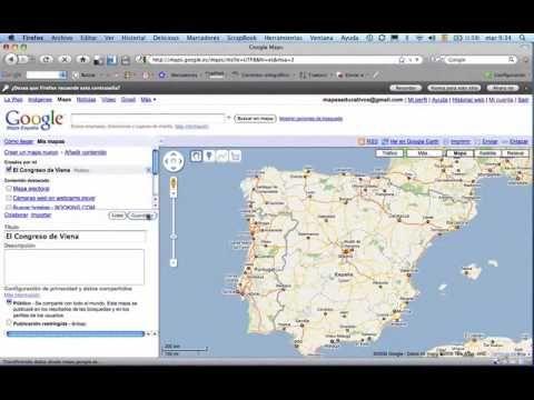 Mapas de Google personalizados I Acceso y creación de un mapa personalizado.