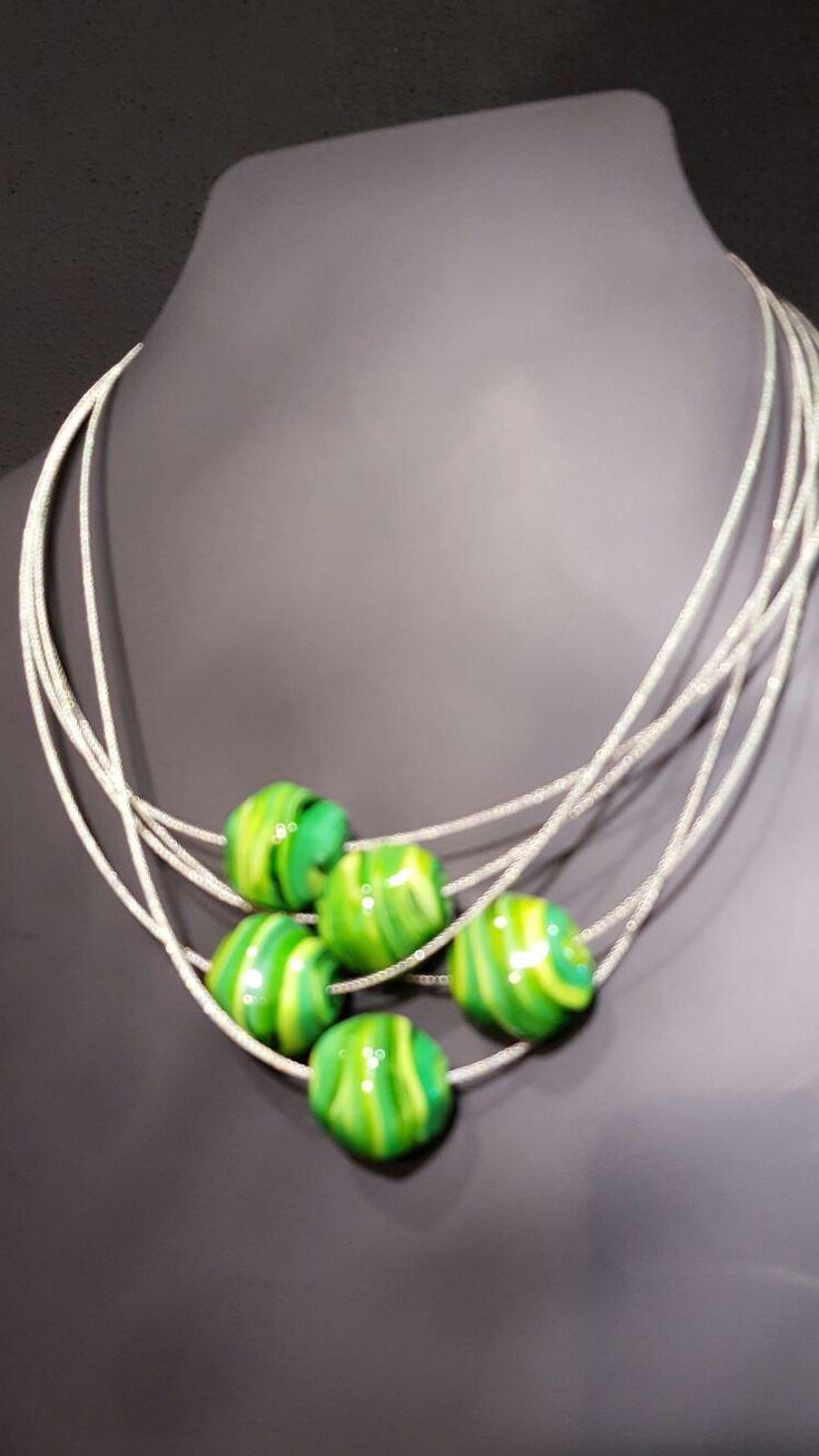 Collana Stone Green by Susanna Martini