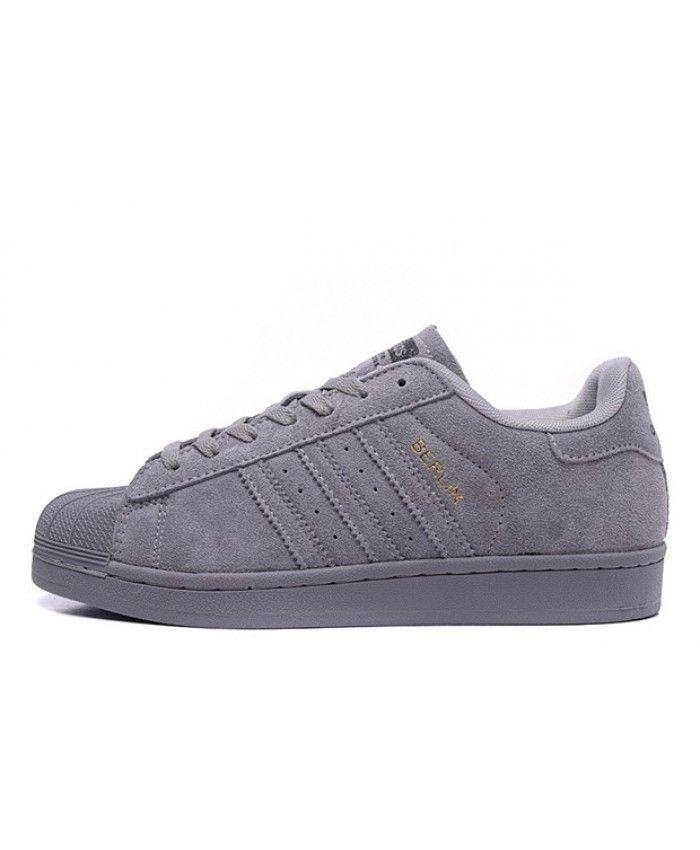 Adidas Superstar 80s City Series Berlin Grey Trainer